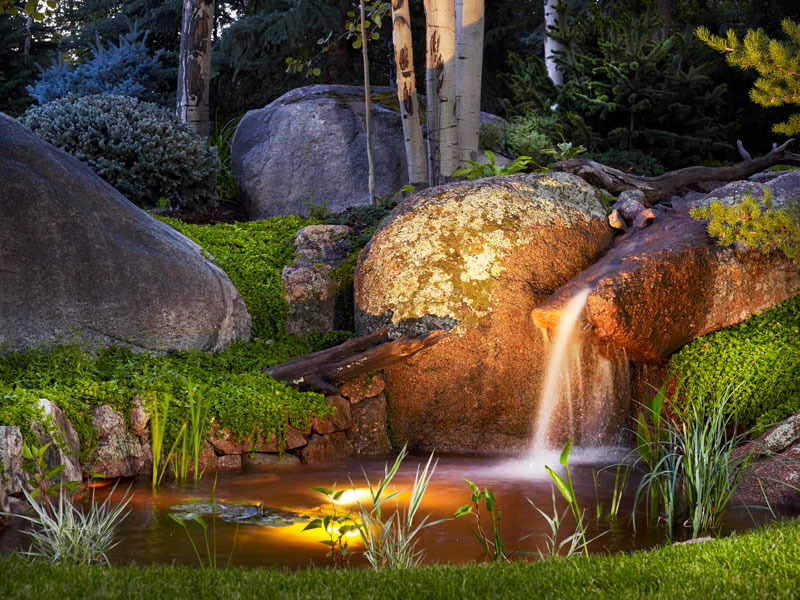 Mystical Waters Escape Garden Design Landscape